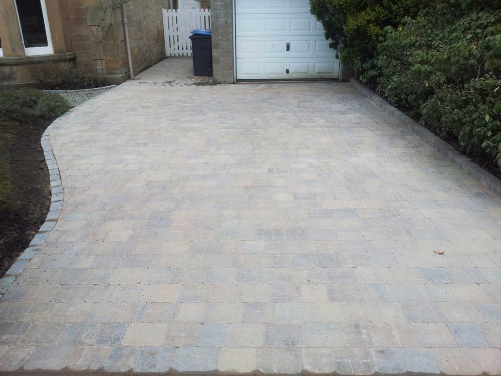 Driveway installer Edinburgh, GM Land Solutions
