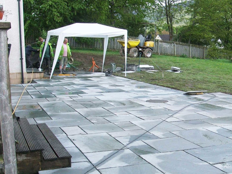Garden Paving project, GM Land Solutions