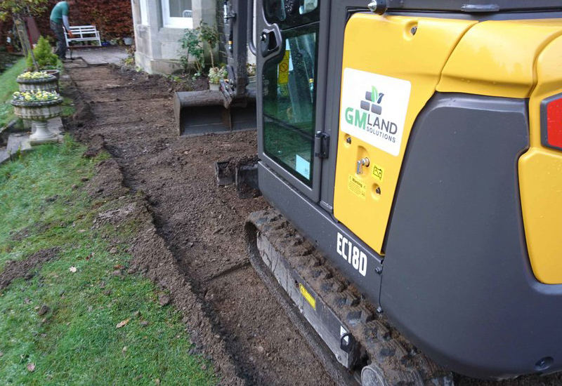 domestic groundworks, GM Land Solutions
