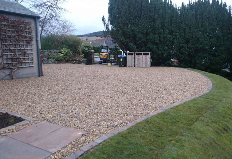 Driveway extension, GM Land Solutions