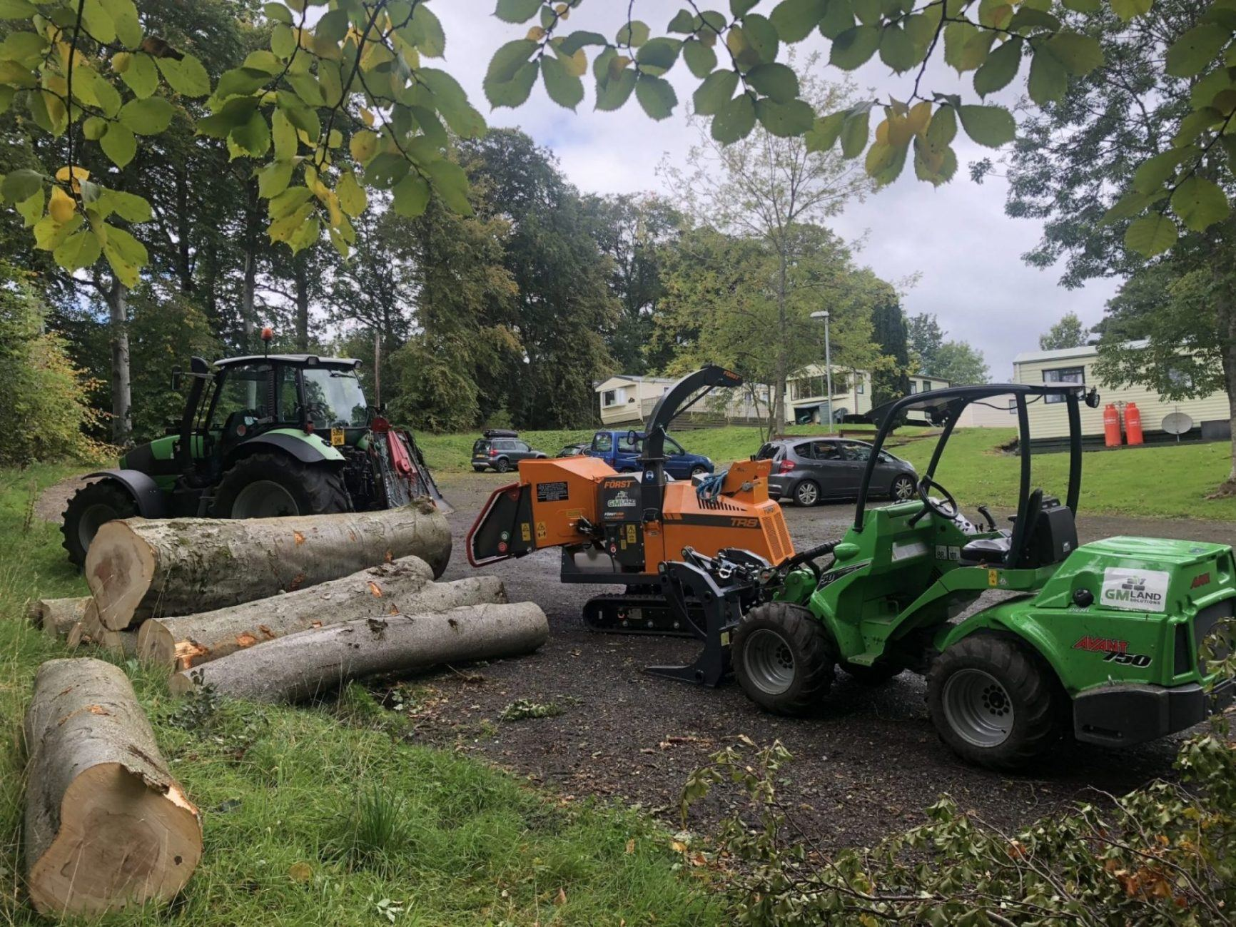 Tree Surgery Edinburgh, GM Land Solutions