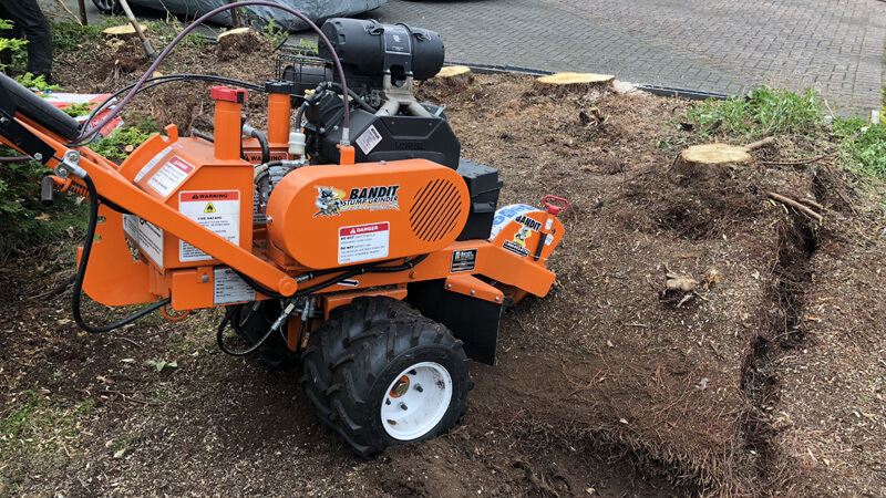 Stump Grinding Edinburgh, GM Land Solutions
