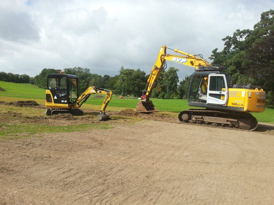 Groundworks Biggar, GM Land Solutions