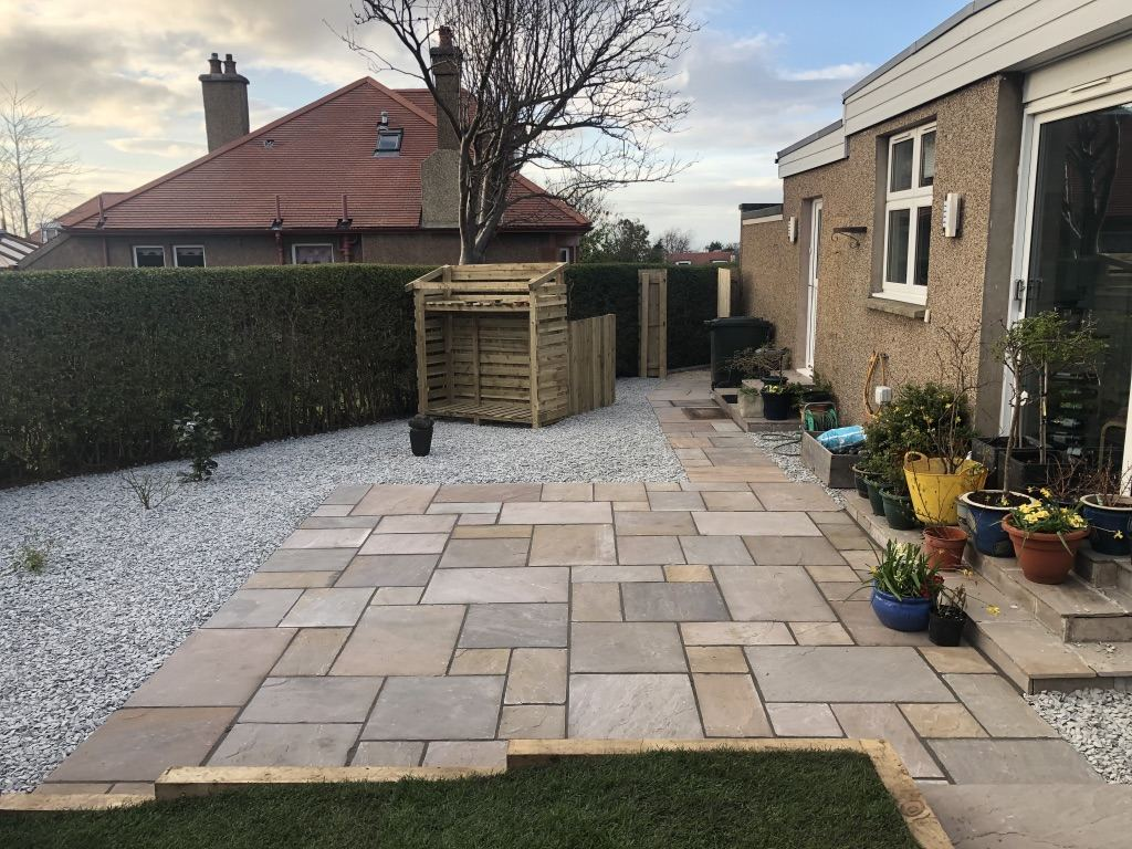 Landscape gardening Edinburgh, GM Land Solutions