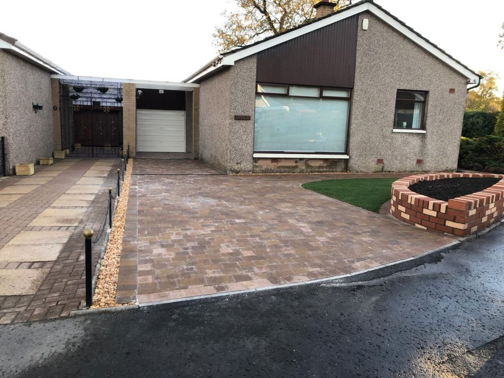 Driveway contractor Edinburgh, GM land Solutions