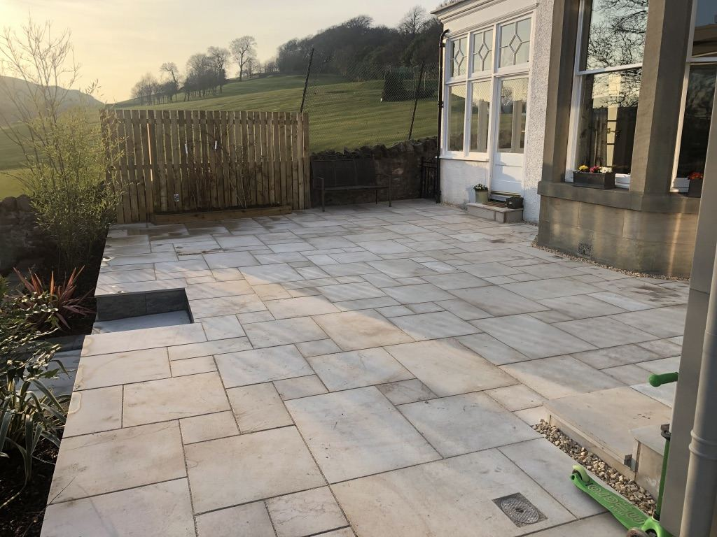 High quality paving Edinburgh, GM Land Solutions