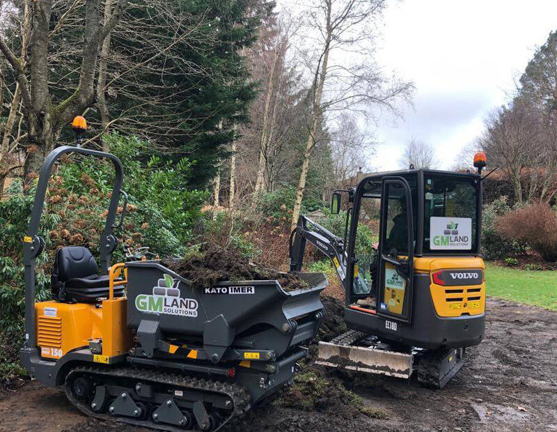 Groundworks Peebles, GM Land Solutions